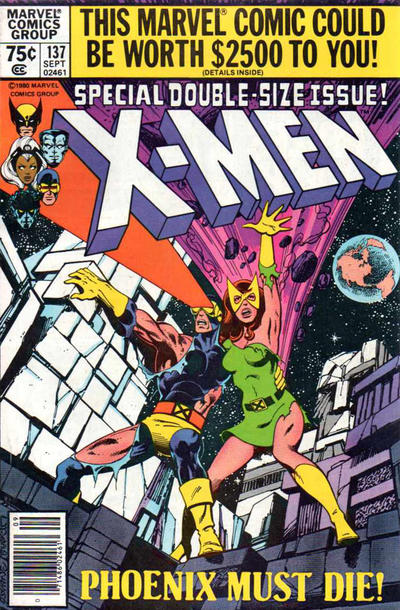 Cover for The X-Men (Marvel, 1963 series) #137 [Newsstand]