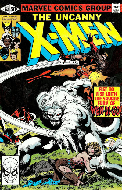 Cover for The X-Men (Marvel, 1963 series) #140 [Newsstand]