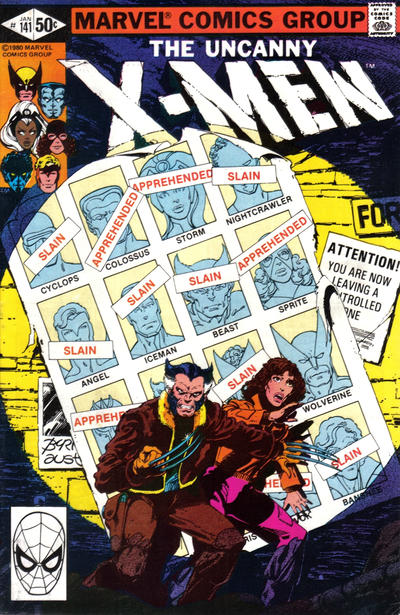 Cover for The X-Men (Marvel, 1963 series) #141 [Direct Edition]