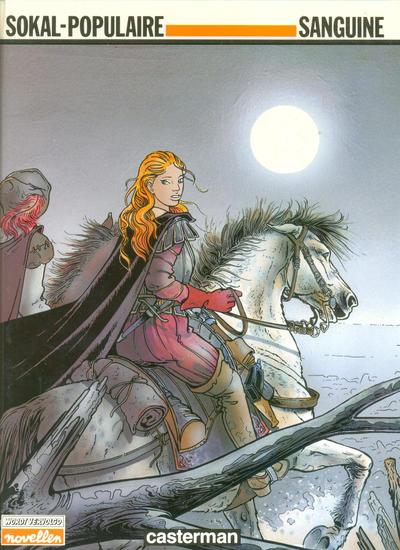 Cover for Sanguine (Casterman, 1988 series)