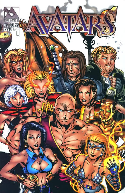 Cover for Avatars (Avatar Press, 1998 series) #1