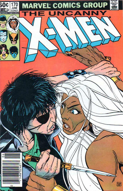 Cover for The Uncanny X-Men (Marvel, 1981 series) #170 [Direct Edition]