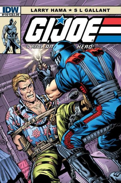 Cover for G.I. Joe: A Real American Hero (IDW, 2010 series) #161 [Cover B]