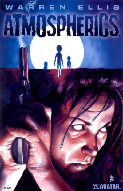 Cover for Atmospherics Graphic Novel (Avatar Press, 2002 series)