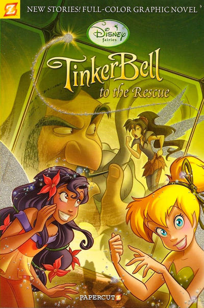 Cover for Disney Fairies (NBM, 2010 series) #4 - Tinker Bell to the Rescue