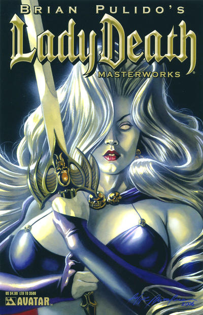Cover for Brian Pulido's Lady Death: Masterworks (Avatar Press, 2007 series)