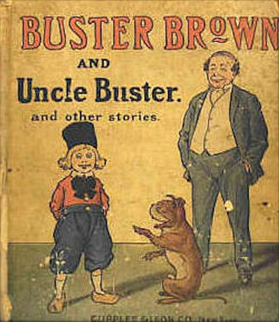 Cover for Buster Brown and Uncle Buster and Other Stories (Cupples & Leon, 1907 series)