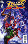 Cover Thumbnail for Justice League: Cry for Justice (2009 series) #1 [Right Side of Cover]