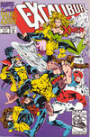 Cover for Excalibur: XX Crossing (Marvel, 1992 series) #[nn] [Direct Edition]