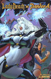 Cover for Lady Death vs Pandora (Avatar Press, 2007 series) #1 [Premium]