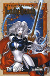 Cover Thumbnail for Lady Death: The Wicked (2005 series) #1 [Gold Foil]