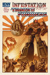 Cover for The Transformers: Infestation (IDW, 2011 series) #1 [Cover B]