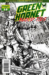 Cover Thumbnail for Green Hornet: Blood Ties (2010 series) #1 [Black-and-White Variant]