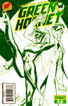 "Cover for Green Hornet (Dynamite Entertainment, 2010 series) #1 [J. Scott Campbell DF Exclusive ""cool green""]"