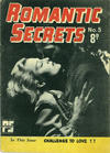 Cover for Romantic Secrets (Cleland, 1952 series) #5
