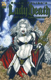 Cover Thumbnail for Brian Pulido's Lady Death: Art of Juan Jose Ryp (2007 series)  [Gold Foil]