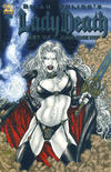 Cover Thumbnail for Brian Pulido's Lady Death: Art of Juan Jose Ryp (2007 series)  [Platinum Foil]