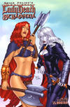 Cover for Brian Pulido's Medieval Lady Death Belladonna (Avatar Press, 2005 series) #1 [Sultry]