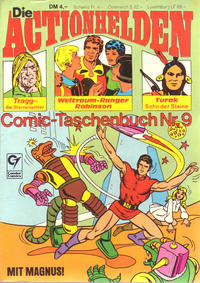 Cover Thumbnail for Die Actionhelden (Condor, 1978 series) #9