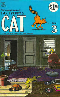 Cover Thumbnail for Fat Freddy's Cat (Rip Off Press, 1977 series) #3 [2nd print 1.00 USD]