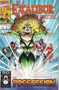 Cover Thumbnail for Excalibur: The Possession (Marvel, 1991 series)  [Direct]