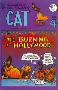 Cover Thumbnail for Fat Freddy's Cat (Rip Off Press, 1977 series) #4 [Revised] [2.95 USD cover]