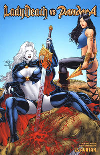 Cover Thumbnail for Lady Death vs Pandora (Avatar Press, 2007 series) #1