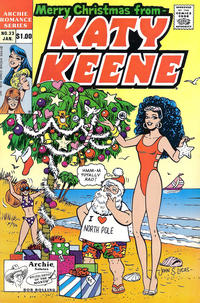Cover Thumbnail for Katy Keene (Archie, 1984 series) #33 [Direct]