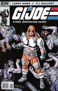 Cover Thumbnail for G.I. Joe: A Real American Hero (IDW, 2010 series) #162 [Cover B]