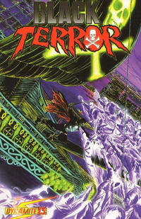 Cover Thumbnail for Black Terror (Dynamite Entertainment, 2008 series) #13 [Cover A - Alex Ross]