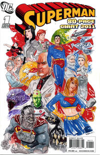 Cover Thumbnail for Superman 80-Page Giant 2011 (DC, 2011 series) #1