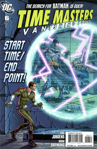 Cover Thumbnail for Time Masters: Vanishing Point (DC, 2010 series) #6