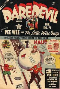 Cover Thumbnail for Daredevil Comics (Lev Gleason, 1941 series) #71