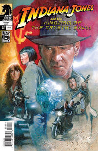 Cover Thumbnail for Indiana Jones and the Kingdom of the Crystal Skull (Dark Horse, 2008 series) #1