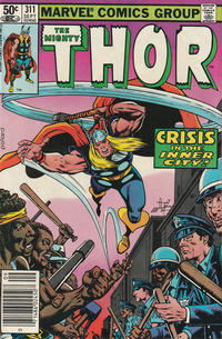Cover Thumbnail for Thor (Marvel, 1966 series) #311 [Newsstand]