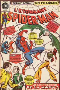 Cover Thumbnail for L'Étonnant Spider-Man (Editions Héritage, 1969 series) #29