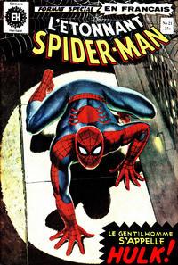 Cover Thumbnail for L'Étonnant Spider-Man (Editions Héritage, 1969 series) #21