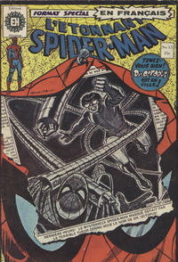 Cover Thumbnail for L'Étonnant Spider-Man (Editions Héritage, 1969 series) #15
