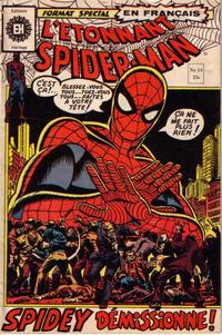 Cover Thumbnail for L'Étonnant Spider-Man (Editions Héritage, 1969 series) #14
