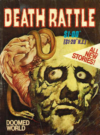 Cover Thumbnail for Death Rattle (Gredown, 1982 series)