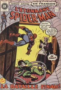 Cover Thumbnail for L'Étonnant Spider-Man (Editions Héritage, 1969 series) #17