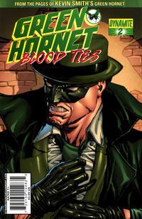 Cover Thumbnail for Green Hornet: Blood Ties (Dynamite Entertainment, 2010 series) #2