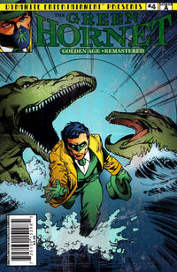Cover Thumbnail for The Green Hornet: Golden Age Re-Mastered (Dynamite Entertainment, 2010 series) #4