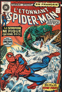 Cover Thumbnail for L'Étonnant Spider-Man (Editions Héritage, 1969 series) #47