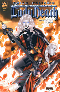 Cover Thumbnail for Brian Pulido's Medieval Lady Death: War of the Winds (Avatar Press, 2006 series) #4