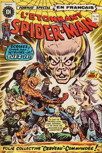 Cover Thumbnail for L'Étonnant Spider-Man (Editions Héritage, 1969 series) #40