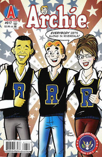 Cover Thumbnail for Archie (Archie, 1959 series) #617 [Direct Edition]