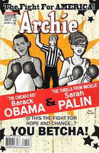 Cover Thumbnail for Archie (Archie, 1959 series) #617 [Boxing Poster Variant]