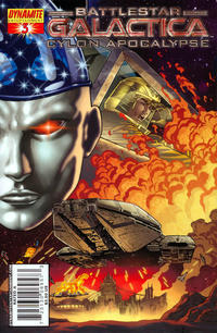 Cover Thumbnail for Battlestar Galactica: Cylon Apocalypse (Dynamite Entertainment, 2007 series) #3 [Cover A - Carlos Rafael]