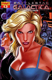 Cover Thumbnail for Battlestar Galactica: Origins (Dynamite Entertainment, 2007 series) #4 [Art Cover - Fabio Laguna]